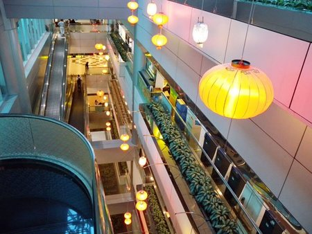 El aeropuerto de Taiwan inaugura biblioteca digital para sus pasajeros
