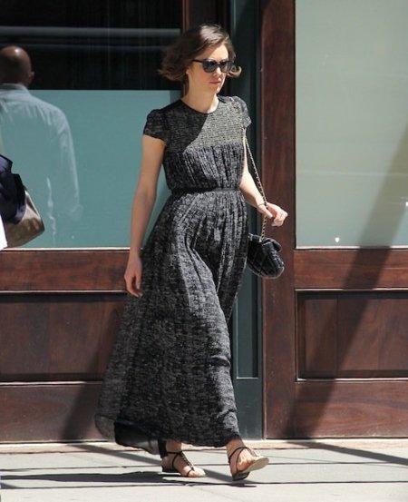 Keira Knightley look calle