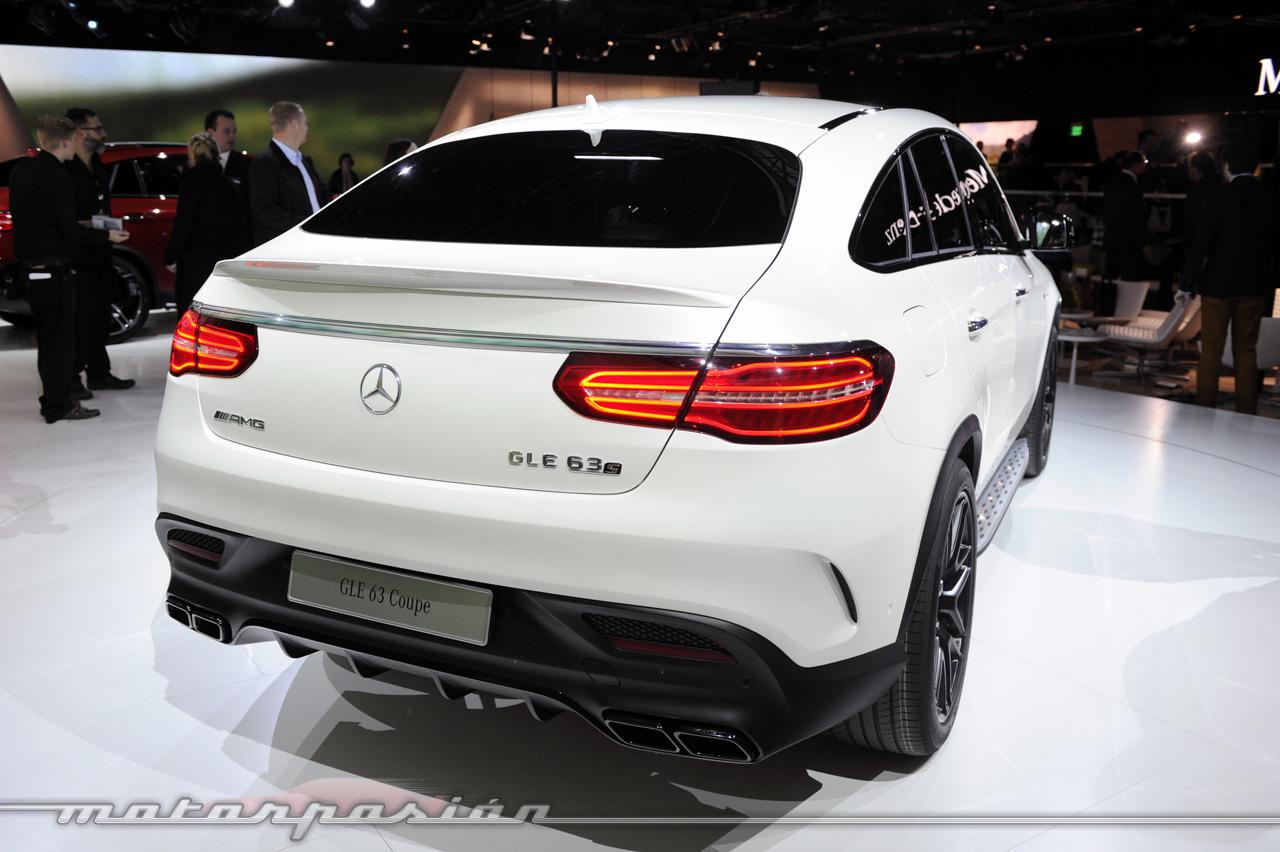 Mercedes-AMG GLE 63 Coupé (en vivo)