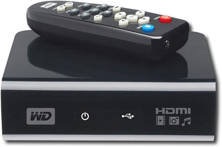 Western Digital WD TV HD Media Player, reproductor en alta resolución