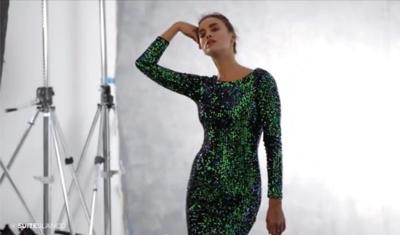 Irina Shayk se viste de fiesta para Suiteblanco: su making of en exclusiva para Trendencias