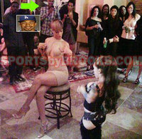 Rihanna celebra su cumpleaños con una stripper