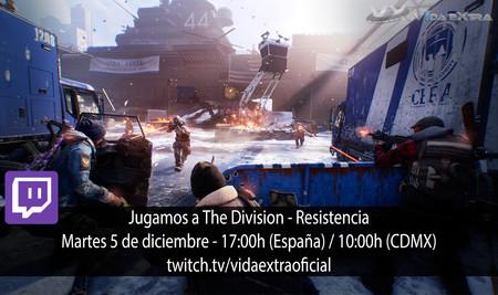 Streaming de The Division a las 17:00h (las 10:00h en Ciudad de México)