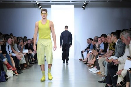 Calvin Klein, Primavera-Verano 2012 en la Semana de la Moda de Milán