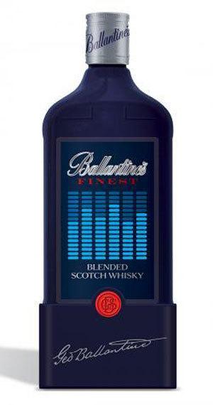 Ballantine's lanza una botella ecualizador: 'Listen to your Beat'