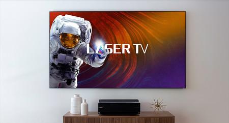 """El """"televisor láser"""" 4K de Hisense con 100 pulgadas ya está a la venta por un precio menor de lo esperado"""
