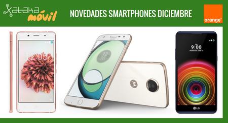 Moto Z Play, bq Aquaris X5 Plus y LG X Power, novedades con Orange y precios