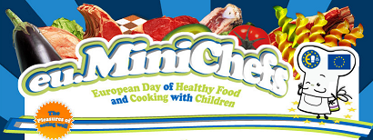 Mini Chefs de Europa, alimentación y nutrición para niños