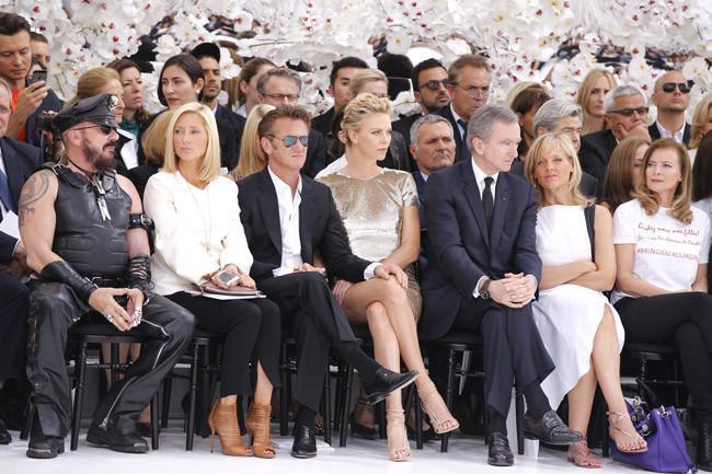 Asitentes desfile Christian Dior Alta Costura Otoño-Invierno 2014/2015