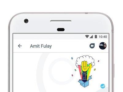 Novedades en Google Allo: integración con las llamadas de Google Duo y stickers en las fotos