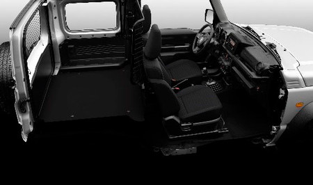 Suzuki Jimny, comercial ligero