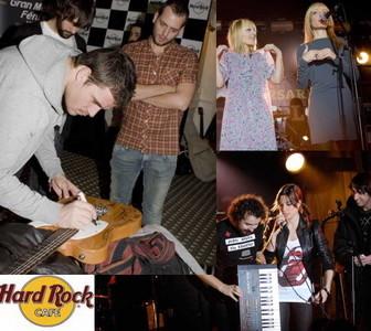 Música española para reinaugurar el Hard Rock Café de Madrid