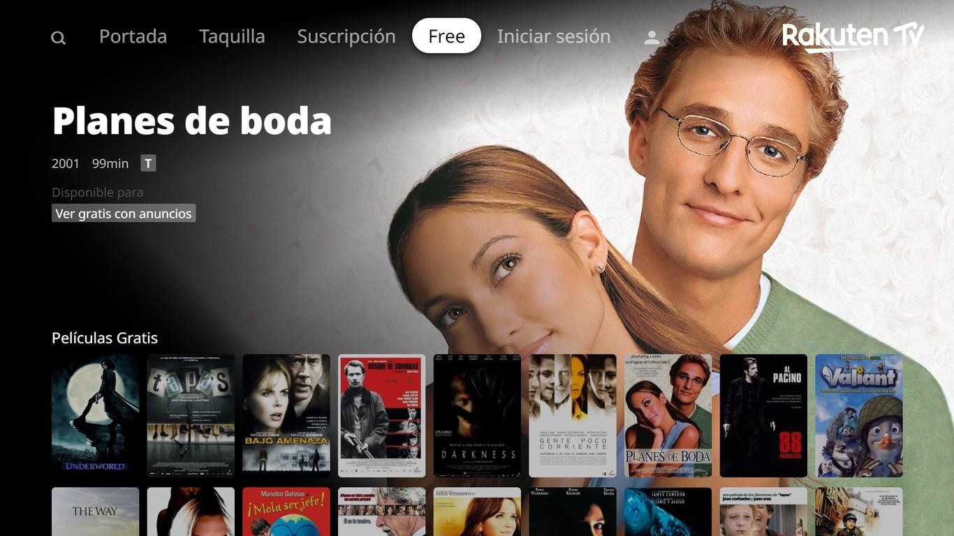 Rakuten TV tiene un nuevo plan para luchar contra Netflix y compañía: ofrecer películas gratis con anuncios