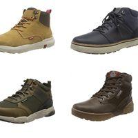 Ofertas de Amazon en tallas sueltas de botas para hombre: marcas como Levi's, Geox o Skechers al mejor precio