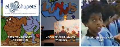 Los ganadores del Festival Infantil de Publicidad El Chupete 2007