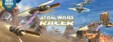 Análisis de Star Wars Episode I Racer: la epicidad de las carreras de cuadrigas elevada a la altura de una space opera