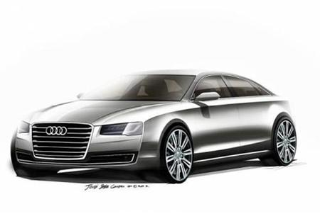 Nuevo Audi A8: Primeros bocetos y nuevo sistema de iluminación Matrix