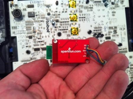 roomba hackeada circuito 2