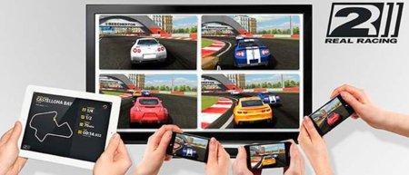 Real Racing 2, ahora con modo para cuatro jugadores y mejores gráficos para el iPad 2 y el iPhone 4S