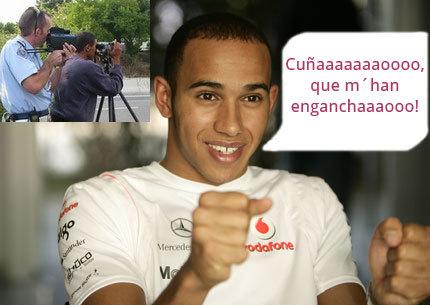 Lewis Hamilton, un mes sin carné de conducir por circular a 196 km/h en autovía