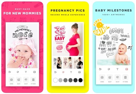 Apps Fotos Embarazo Baby Story