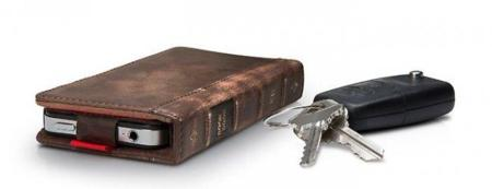 BookBook, funda para el iPhone con aspecto de libro viejo