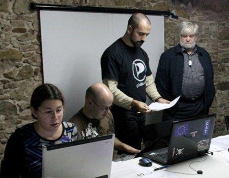 Pirates de Catalunya presenta los candidatos por las cuatro circunscripciones catalanas