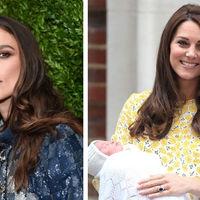 """""""No lo muestres, no lo digas"""": Keira Knightley critica a Kate Middleton por ocultar la realidad del postparto"""
