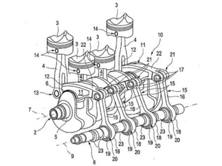 Audi trabaja en un revolucionario motor tetracilíndrico