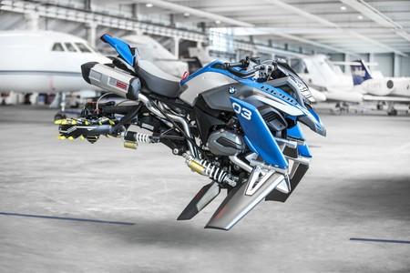 Voladora, sin ruedas pero sin perder su identidad, así es la BMW Hover Ride Design Concept