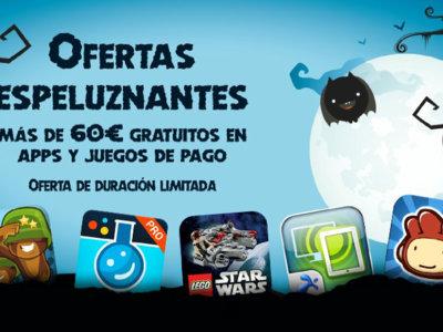 Amazon y sus ofertas espeluznantes: gratis más de 60 € en una selección de 33 aplicaciones y juegos