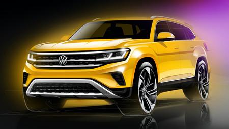 Volkswagen ya prepara el facelift del Teramont para 2020