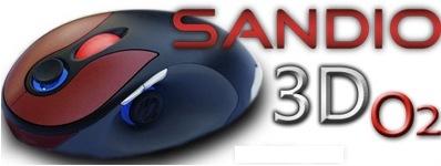 Sandio 3D O2, control 3D en el ratón [CES 2008]