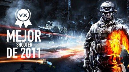 Mejor shooter de 2011 según los lectores de VidaExtra: 'Battlefield 3'