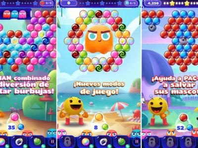 Pac-Man Pop! es el Puzzle Bobble de Bandai Namco que ya puedes descargar gratis en tu Android