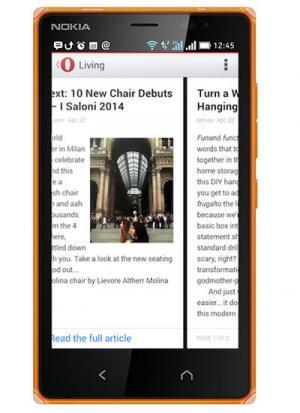 Opera -y no Firefox- es el navegador que Microsoft elige para sus Nokia X2