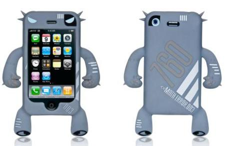 Robotector, original funda para el iPhone