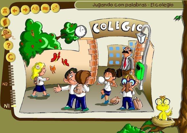 Jugando Con Las Palabras El Colegio
