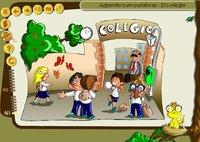Jugando con las palabras: el colegio