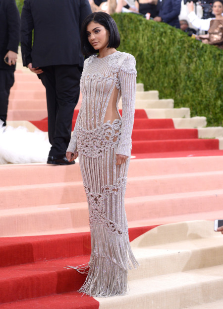 Kylie Jenner Balmain B