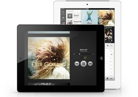 Spotify en iPad