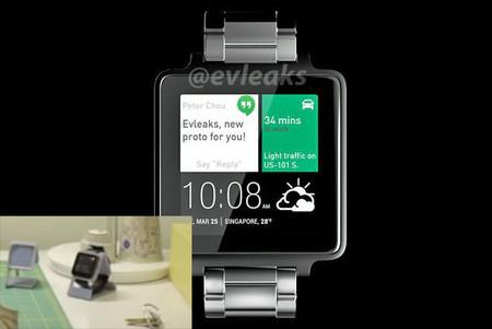 Así sería el primer reloj inteligente de HTC