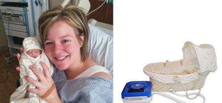 Tras poder pasar solo una hora con su recién nacida sin vida donaron al hospital una cuna fría para otros padres