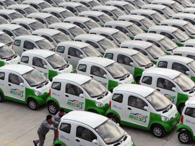 1.000 coches eléctricos para Tianjin: 'car sharing' como un pequeño paso contra la contaminación