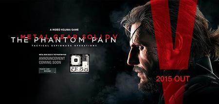 A contar las horas, Metal Gear Solid V: The Phantom Pain mostrara un importante anuncio mañana