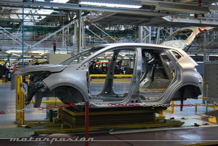 Fabricación del Renault Captur en Valladolid