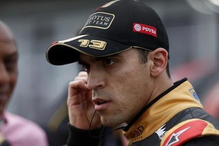 Pastor Maldonado y Lotus, optimistas con el motor Renault