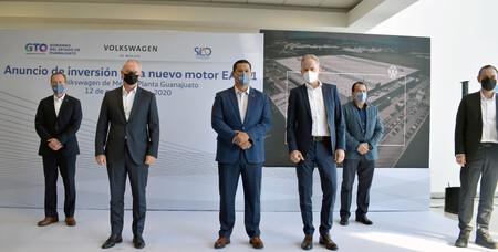 Volkswagen De Mexico Producira Un Nuevo Motor En Su Planta De Guanajuato Para La Manufactura De Vehiculos En Norteamerica