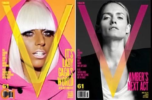 Foto de Kate Moss, Lady Gaga, Linda Evangelista y Amber Valletta comparten portada en V (1/6)