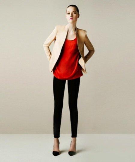 Zara look rojo
